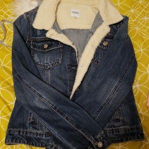 Kensie Sherpa Jean jacket